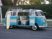 1963 Volkswagen BusVanagon Deluxe Trim